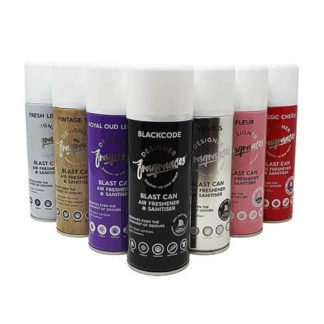 Designer Fragrance Air Freshener Cans