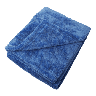 Double Sided Twist Drying Towel Blue