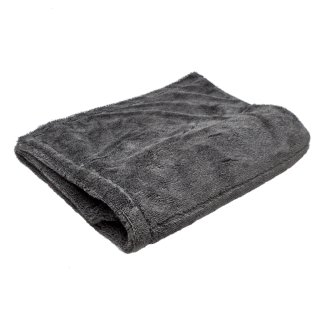 Double Sided Twist Drying Towel Grey