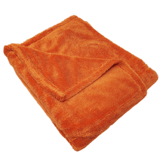 Double Sided Twist Drying Towel Orange