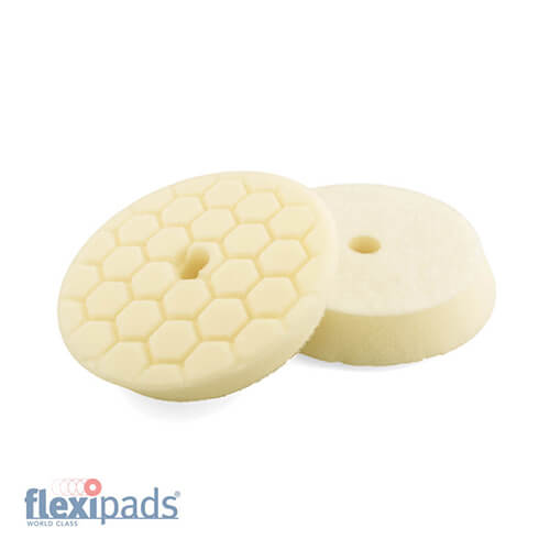 Flexipads Pro-Detail Cream Medium Polishing Pad