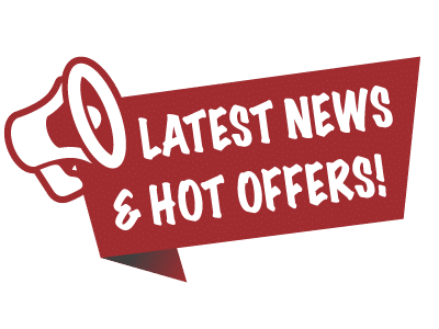 Subscribe to receive our latest news and hot offers